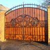 Кованые ворота ВГК-134