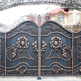 Кованые ворота ВГК-137