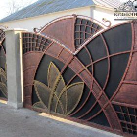 Ворота кованые ВГК-140