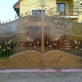 Ворота кованые ВГК-141
