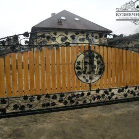 Ворота кованые ВГК-142