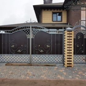 Ворота кованые ВГК-143