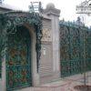 Ворота кованые ВГК-144