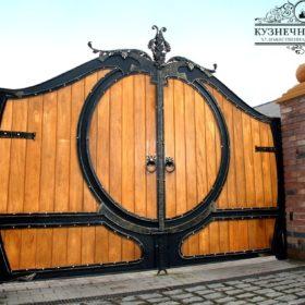 Ворота кованые ВГК-147