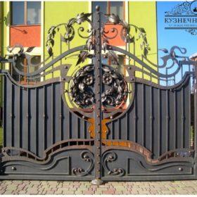 Ворота кованые распашные  ВГК-148