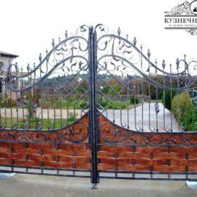 Ворота кованые распашные ВГК-149