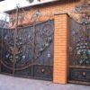 Ворота кованые ВГК-153
