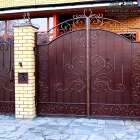 Ворота кованые ВГК-154