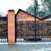 Ворота кованые ВГК-155