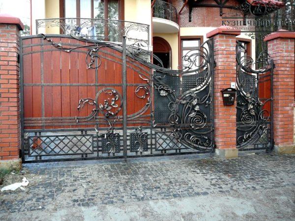 Ворота кованые ВГК-157
