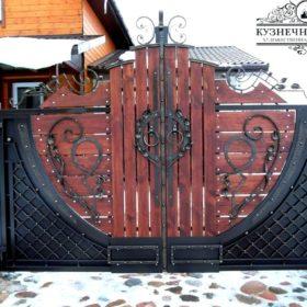 Кованые ворота ВГК-138
