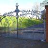 Ворота кованые ВГК-158