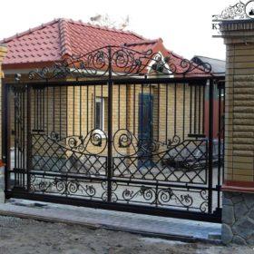 Ворота кованые ВГК-159
