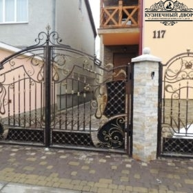 Ворота кованые ВГК-162