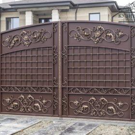 Ворота кованые ВГК-164
