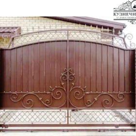 Ворота кованые ВГК-166
