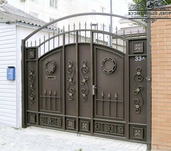 Ворота кованые ВГК-167