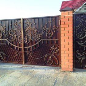 Ворота кованые ВГК-171