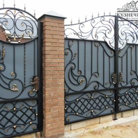 Ворота кованые ВГК-175