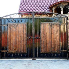 Ворота кованые ВГК-177