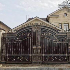 Кованые ворота в Новороссийске