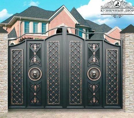 Кованые ворота в Сочи