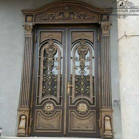 Дверь кованая ДГК-02