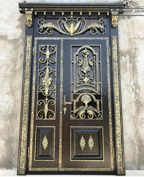 Дверь кованая ДГК-4