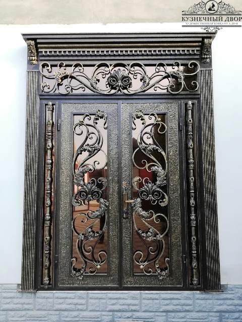 Дверь кованая ДГК-5