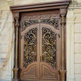 Дверь кованая ДГК-01